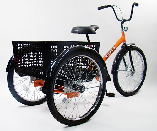 Custom Steering Wheel >> Cargo Bikes: Two or Three Wheels