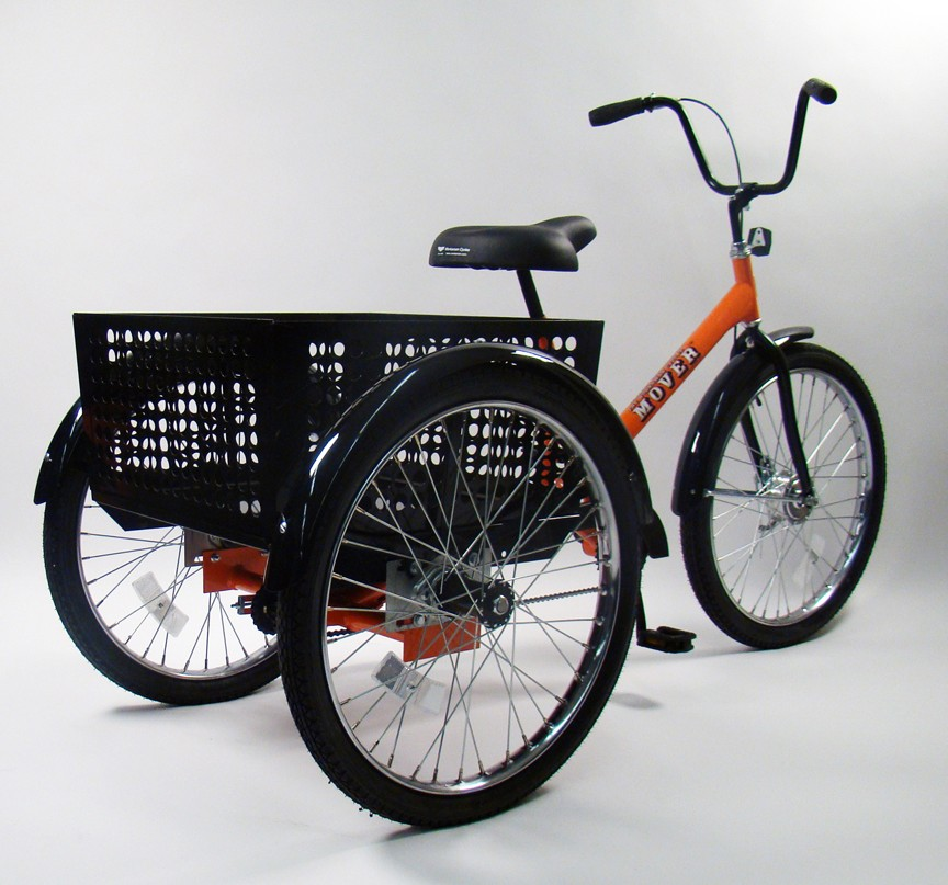 Cargo Bikes Worksman Mover Industrial Tricycle M2626 3cb