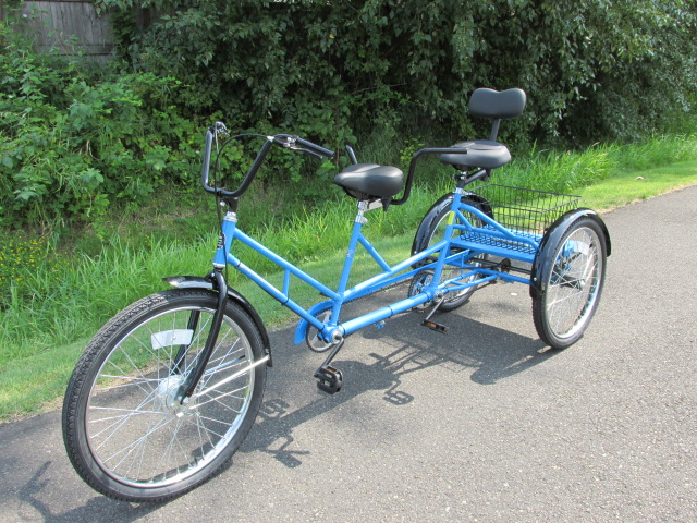 Worksman TRI-Tandem Trike - Model TT-3CB - The Worksman Cycles