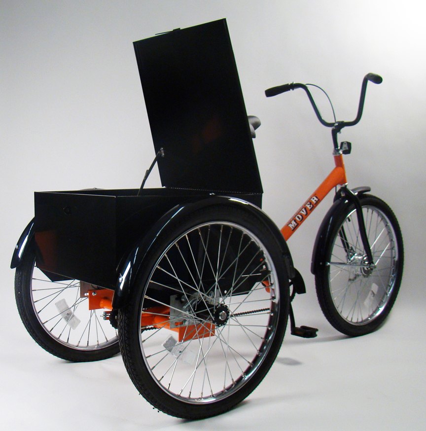 Cargo Bikes - Worksman Mover Industrial Tricycle M2626-CB