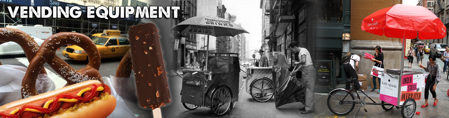 Vending hot dog ice cream popcorn carts from worksman cycles