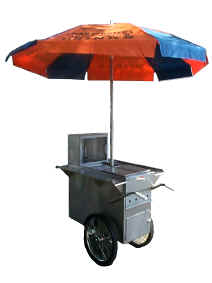 Worksman Party Hot Dog Cart