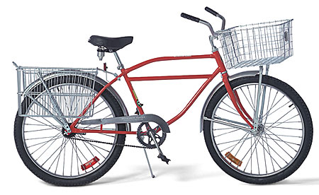 Worksman Front and Rear Baskets