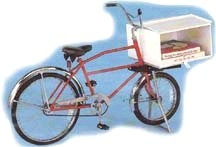 Worksman Pizza Delivery Bike Made in the USA