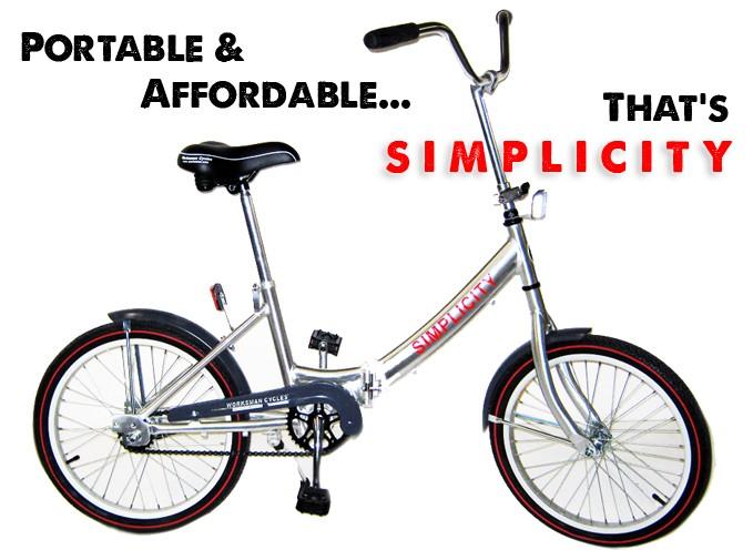Worksman Simplicity Folding Bikes