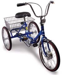 Worksman Port-o-Trikes are the best selling Adult Tricycles in the USA