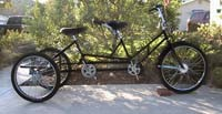 Worksman Tandem Tricycle
