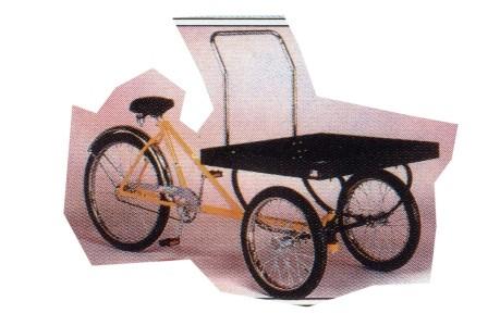 Worksman Industrial Utility Tricycle