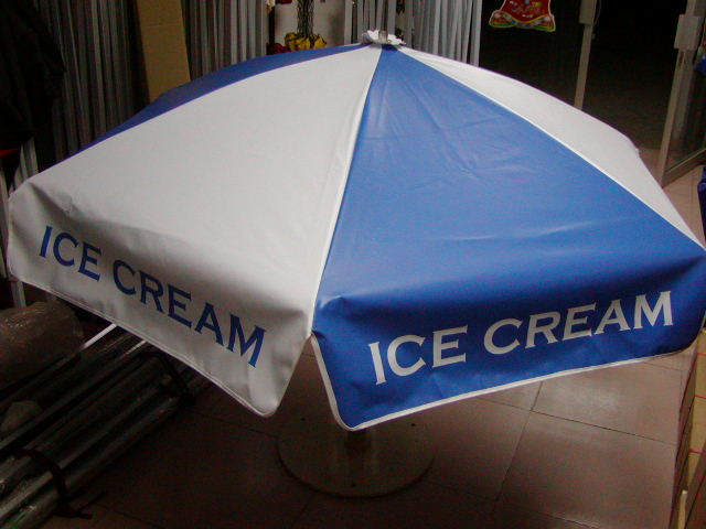 Worksman Ice Cream Cart Umbrella